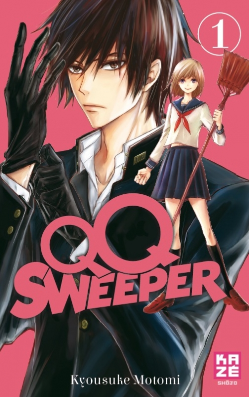 Couverture QQ Sweeper, tome 1