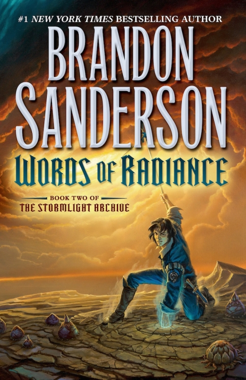 Couverture The Stormlight Archive, book 2: Words of Radiance