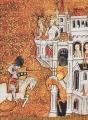Couverture Le roman du roi Arthur et de ses chevaliers de la table ronde, intégrale Editions L'Atalante (La Dentelle du cygne) 2002