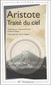 Couverture Traité du ciel Editions Flammarion (GF - Bilingue) 2004