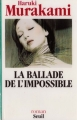 Couverture La ballade de l'impossible Editions Seuil 1994