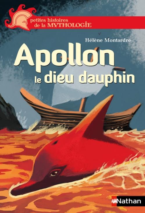 Couverture Apollon le dieu dauphin