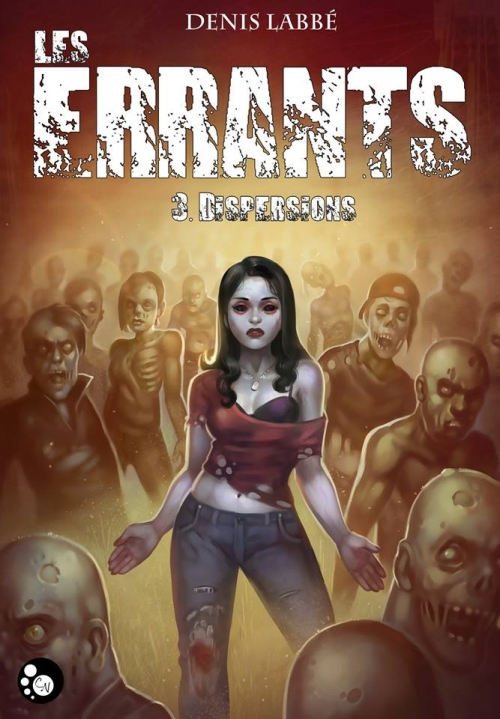 Couverture Les Errants, tome 3 : Dispersions