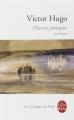 Couverture Oeuvres poétiques : Anthologie Editions Le Livre de Poche (Les Classiques de Poche) 2002