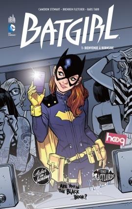 Couverture Batgirl, tome 1 : Bienvenue à Burnside