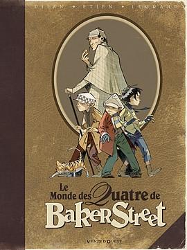 Couverture Le monde des Quatre de Baker Street
