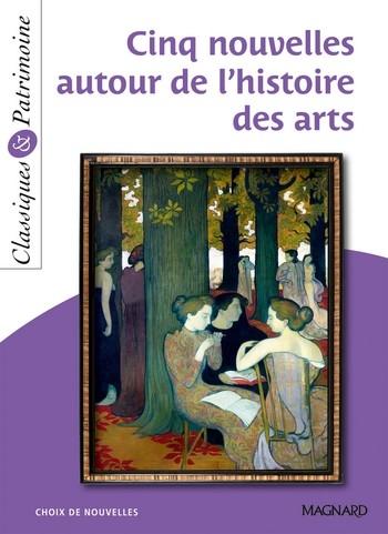 Couverture Cinq Nouvelles autour de l'histoire des arts