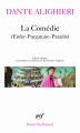 Couverture La divine comédie, intégrale Editions Gallimard  (Poésie) 2012