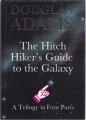 Couverture The Hitchiker's Guide to the Galaxy: A Trilogy In Four Parts Editions William Heinemann 1986