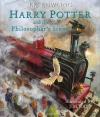 Couverture Harry Potter, illustré, tome 1 : Harry Potter à l'école des sorciers Editions Bloomsbury 2015