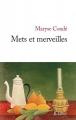 Couverture Mets et merveilles Editions JC Lattès 2015