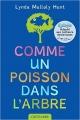 Couverture Comme un poisson dans l'arbre Editions Castelmore (Dys) 2015