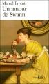 Couverture Un amour de Swann Editions Folio  2014