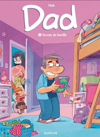 Couverture Dad, tome 2 : Secrets de famille
