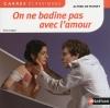 Couverture On ne badine pas avec l'amour Editions Nathan (Carrés classiques) 2015