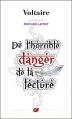 Couverture De l'horrible danger de la lecture Editions Flammarion (GF) 2014