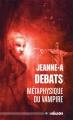 Couverture Métaphysique du Vampire Editions ActuSF (Hélios) 2015