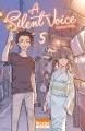 Couverture A silent voice, tome 5 Editions Ki-oon (Shônen) 2015