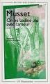 Couverture On ne badine pas avec l'amour Editions Flammarion (GF) 1997