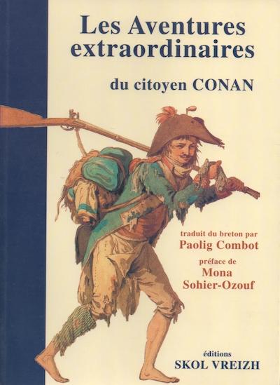 Couverture Les Aventures extraordinaires du Citoyen Conan