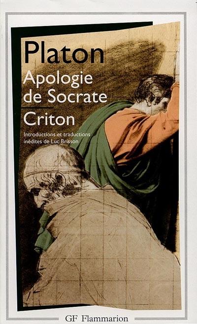 Couverture Apologie de Socrate, Criton, Phédon