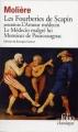 Couverture Les fourberies de Scapin Editions Folio  (Classique) 1978