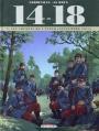 Couverture 14-18, tome 02 : Les chemins de l'enfer (septembre 1914) Editions Delcourt 2014