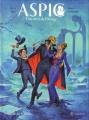 Couverture ASPIC : Détectives de l'étrange, tome 4 : Vaudeville chez les vampires Editions Quadrants 2015