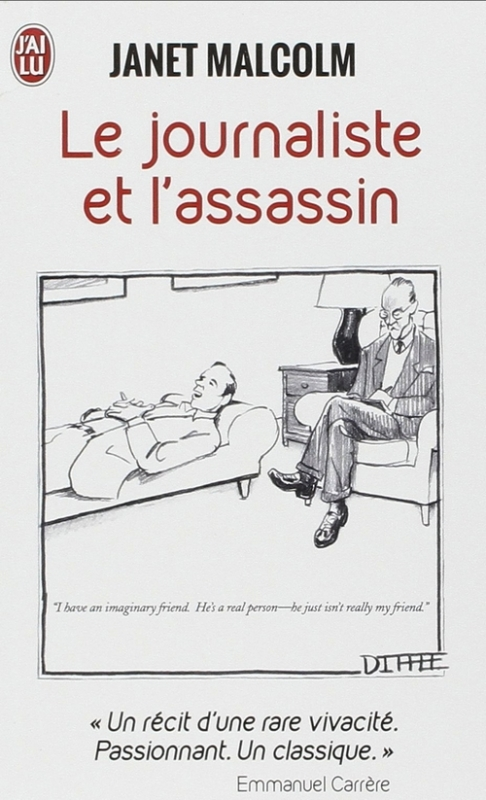 Couverture Le journaliste et l'assassin