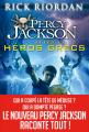 Couverture Percy Jackson et les Héros Grecs Editions Albin Michel (Jeunesse - Wiz) 2015