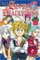 Couverture Seven Deadly Sins, tome 11 Editions Pika 2015