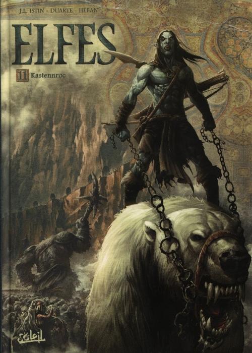 Couverture Elfes, tome 11 : Kastennroc