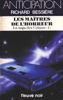 Couverture La saga des Coburn, tome 1 : Les Maîtres de l'horreur