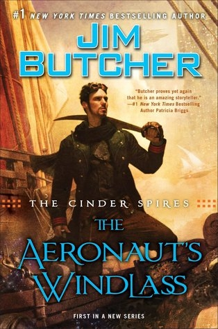 Couverture The Cinder Spires, book 1: The Aeronaut's Windlass