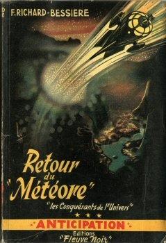 """Couverture Les Conquérants de l'Univers, tome 3 : Retour du """"Météore"""""""