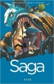 Couverture Saga, tome 5 Editions Image Comics 2015