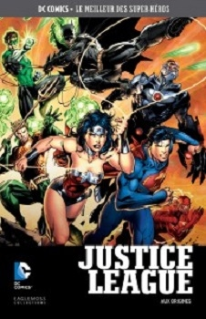 Couverture Justice League (Renaissance), tome 1 : Aux origines
