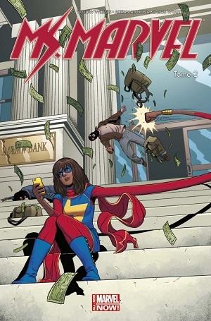 Couverture Miss Marvel (Marvel Now), tome 2 : Génération Y