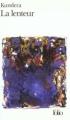 Couverture La lenteur Editions Folio  1997