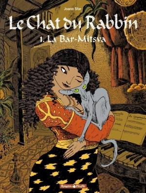 Couverture Le Chat du Rabbin, tome 1 : La Bar-Mitsva