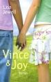 Couverture Vince & Joy Editions France Loisirs 2008