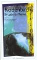 Couverture Bruges-la-Morte Editions Flammarion (Champs - Arts) 1998
