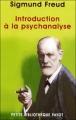 Couverture Introduction à la psychanalyse Editions Payot (Petite bibliothèque) 2001