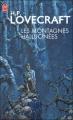Couverture Les montagnes hallucinées / Montagnes de la folie / Les Montagnes de la démence Editions J'ai Lu (Fantastique) 2007