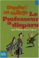Couverture Le Professeur a disparu Editions Folio  (Junior) 2007