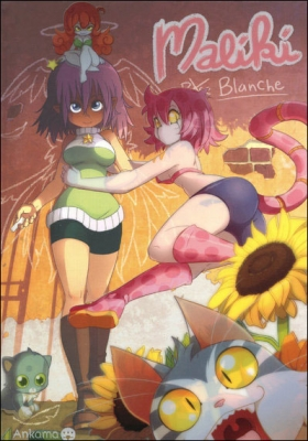 Couverture Maliki, tome 4 : Rose Blanche