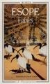 Couverture Fables Editions Flammarion (GF - Bilingue) 1995