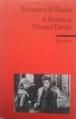 Couverture Un tramway nommé Désir Editions Reclam (Universal Bibliothek) 1988