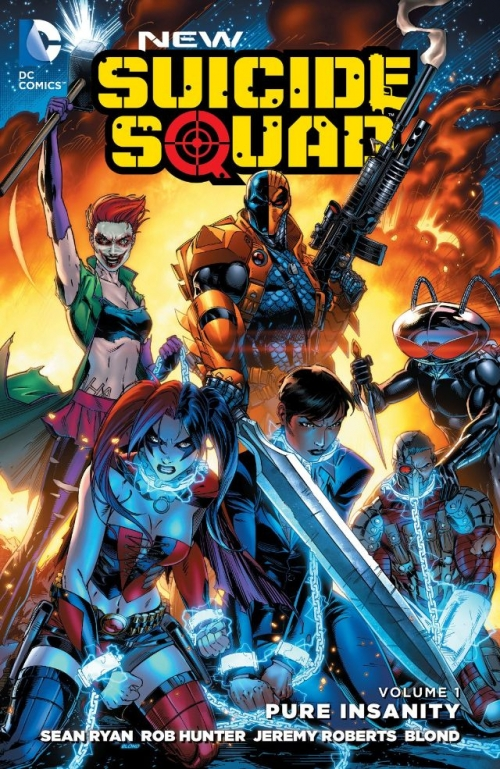 Couverture New Suicide Squad, book 1: Pure Insanity