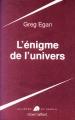 Couverture L'enigme de l'univers Editions Robert Laffont (Ailleurs & demain) 1997